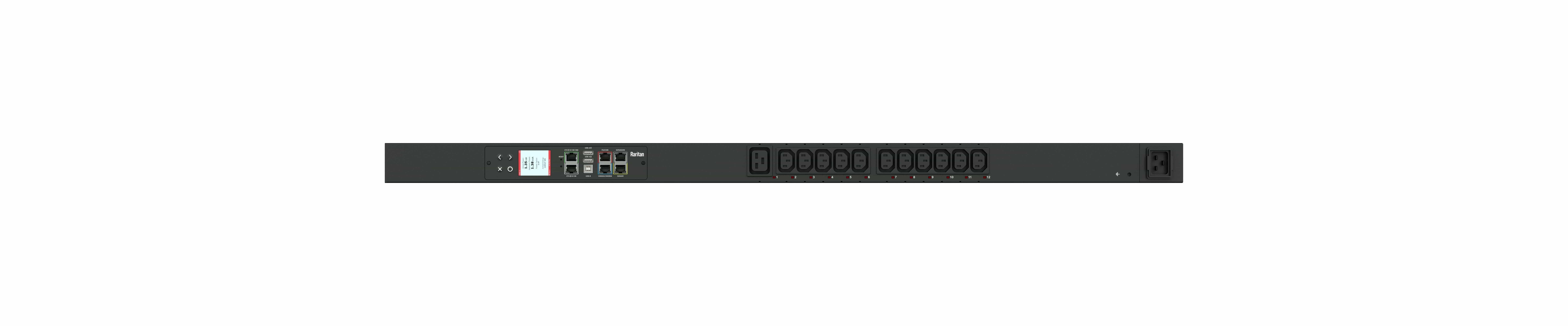 PX3-5025N-M5 - przemysłowa, inteligentna listwa zasilająca iPDU, Raritan