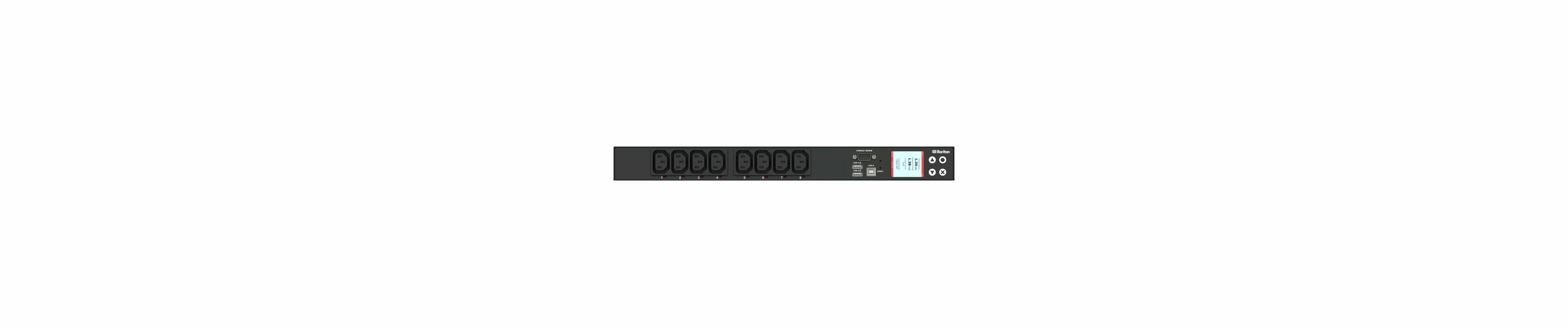 PX3-5190R - przemysłowa, inteligentna listwa zasilająca iPDU, Raritan