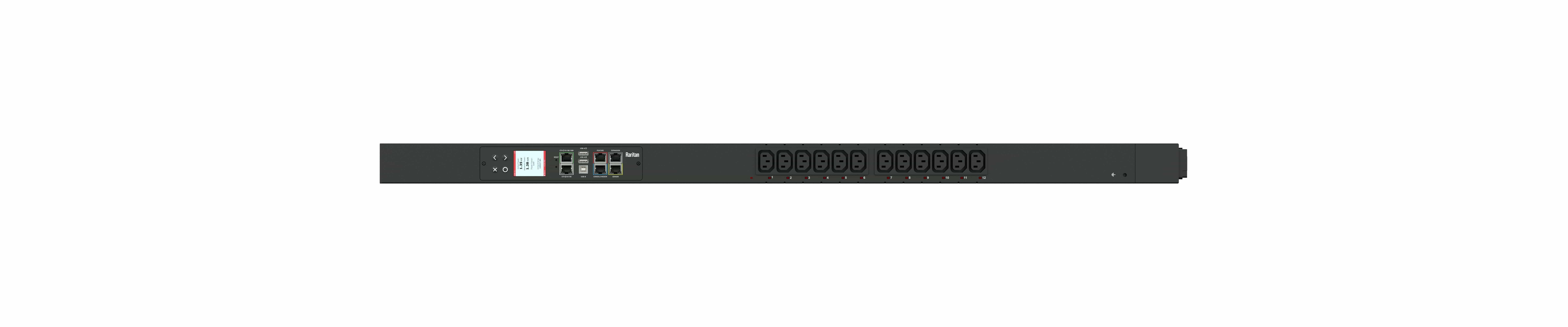 PX3-5260V - przemysłowa, inteligentna listwa zasilająca iPDU, Raritan